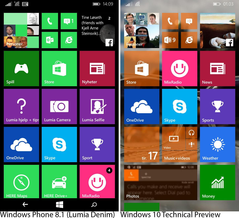 Minimumkravene til Windows 10 for mobil er nå blitt kunngjort. Foto: Finn Jarle Kvalheim, Tek.no