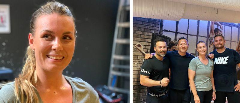 Bea gick ner 2,2 kilo under veckan