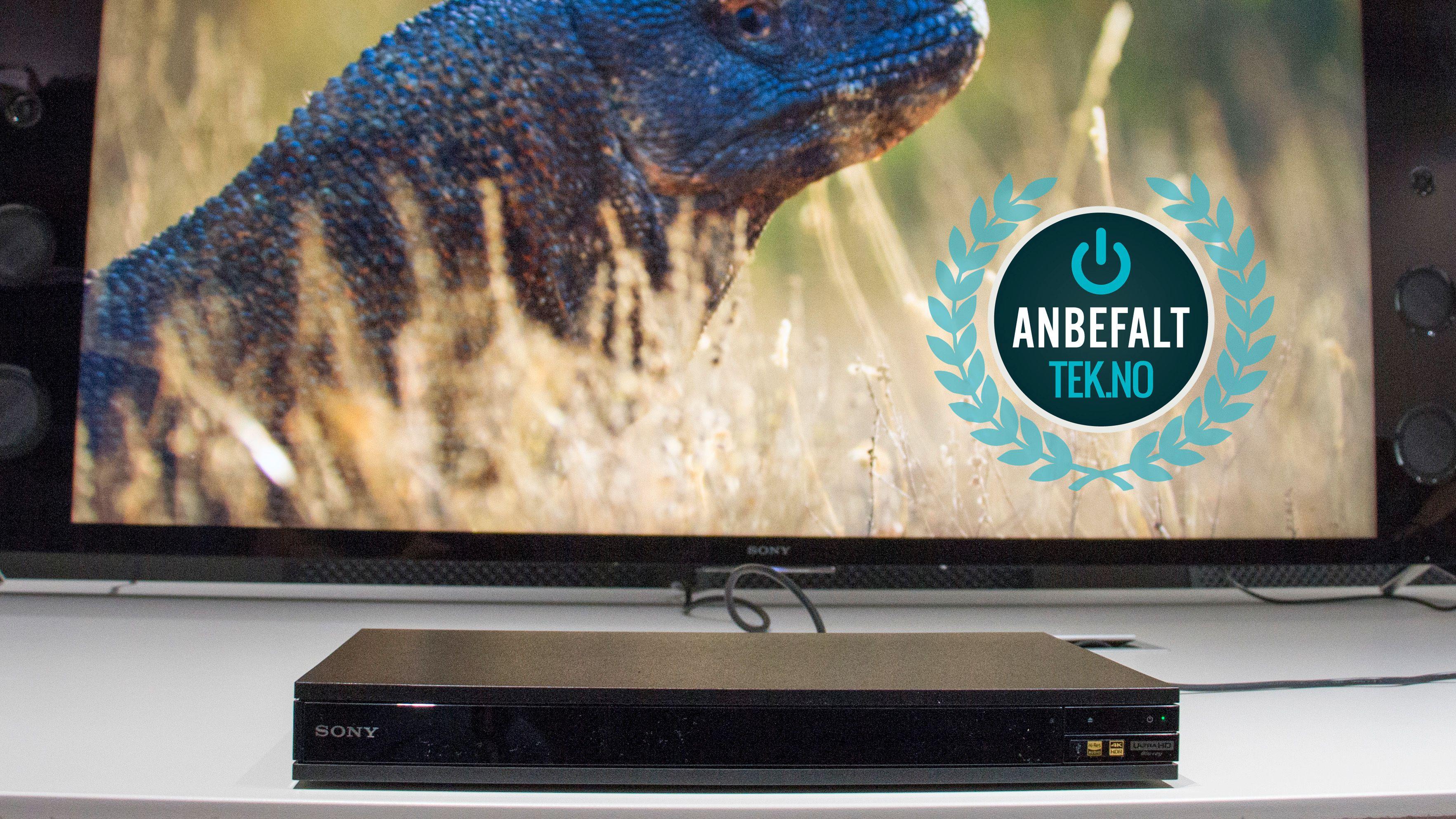 Sonys nye UHD Blu-ray er et anbefalt produkt