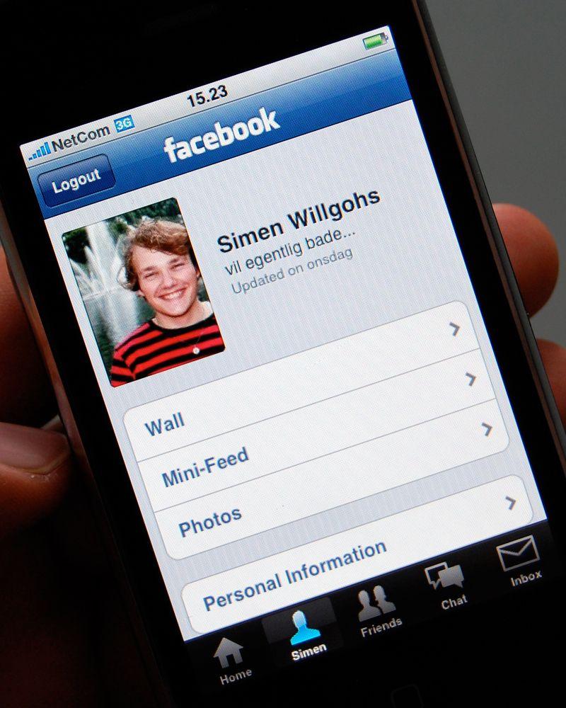 Facebook er stort sett med oss overalt.