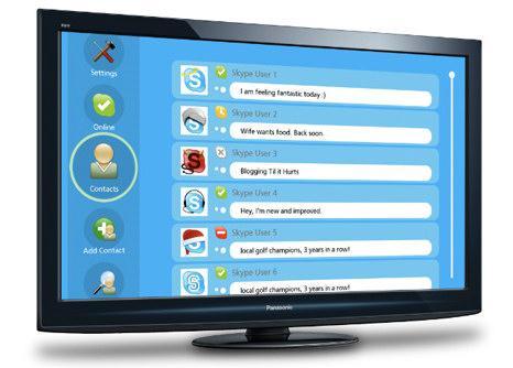 Skype kommer på TV-en