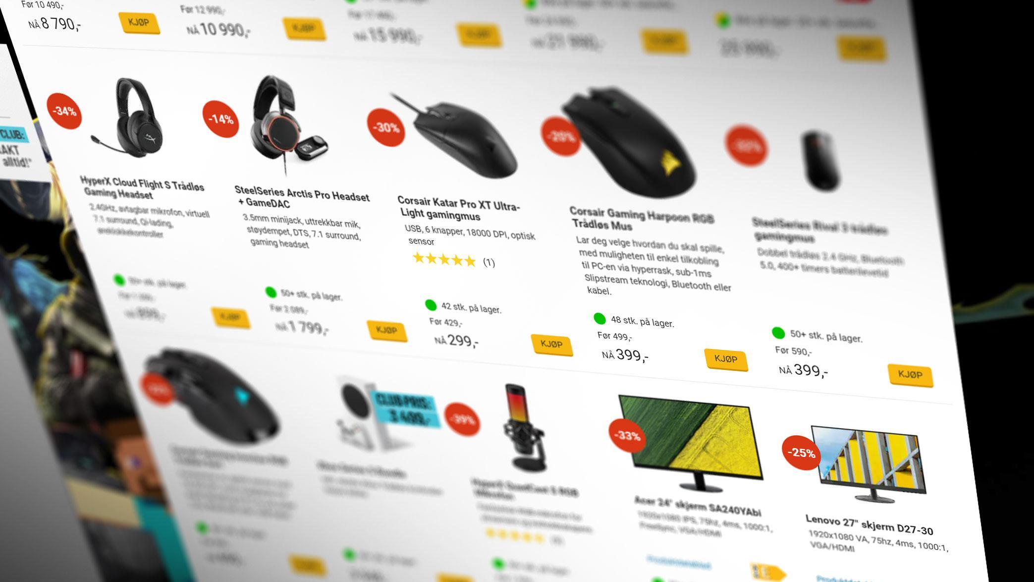Komplett endrer: Skal vise brukeranmeldelser overalt