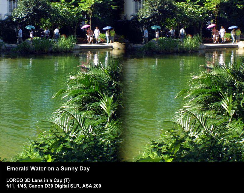 Bilde lager to versjoner av samme motiv, et til hvert øye.