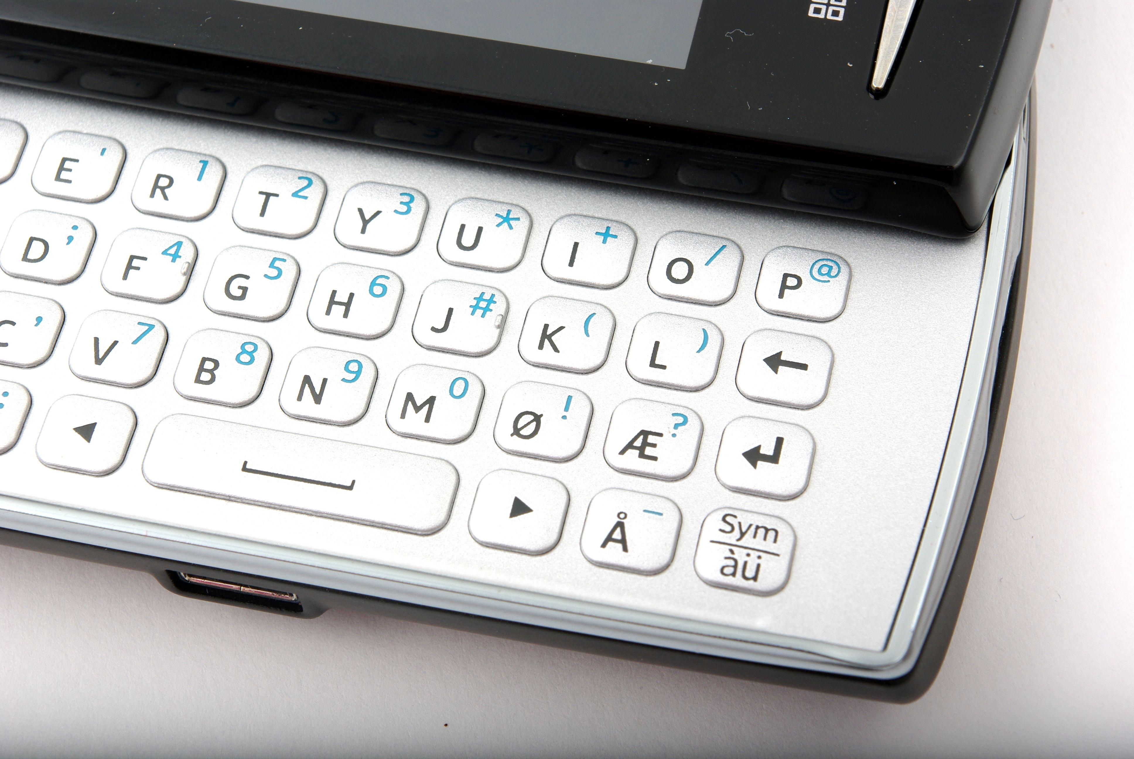Norske tegn på tastaturet er et pluss.