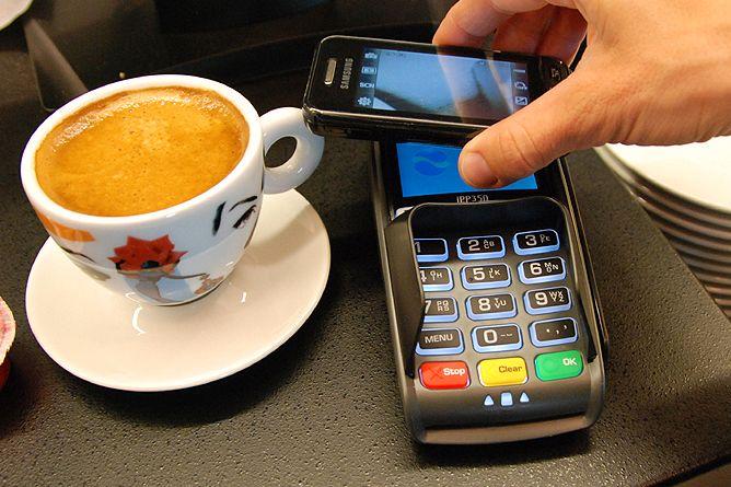 Mange av mCash' konkurrerende løsninger vil være basert på NFC.Foto: Telenor