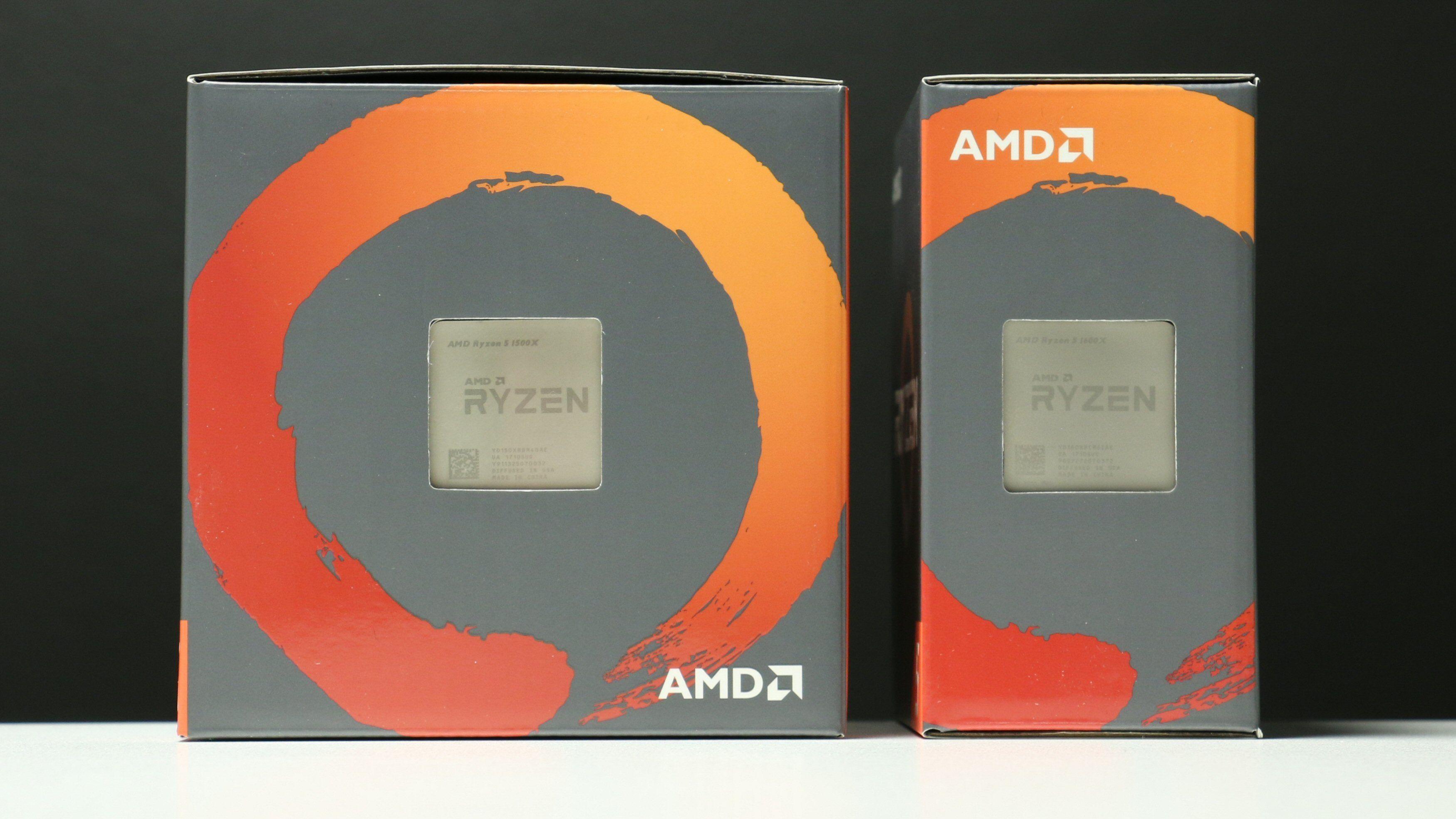AMD Ryzen 5 1600X og Ryzen 5 1500X