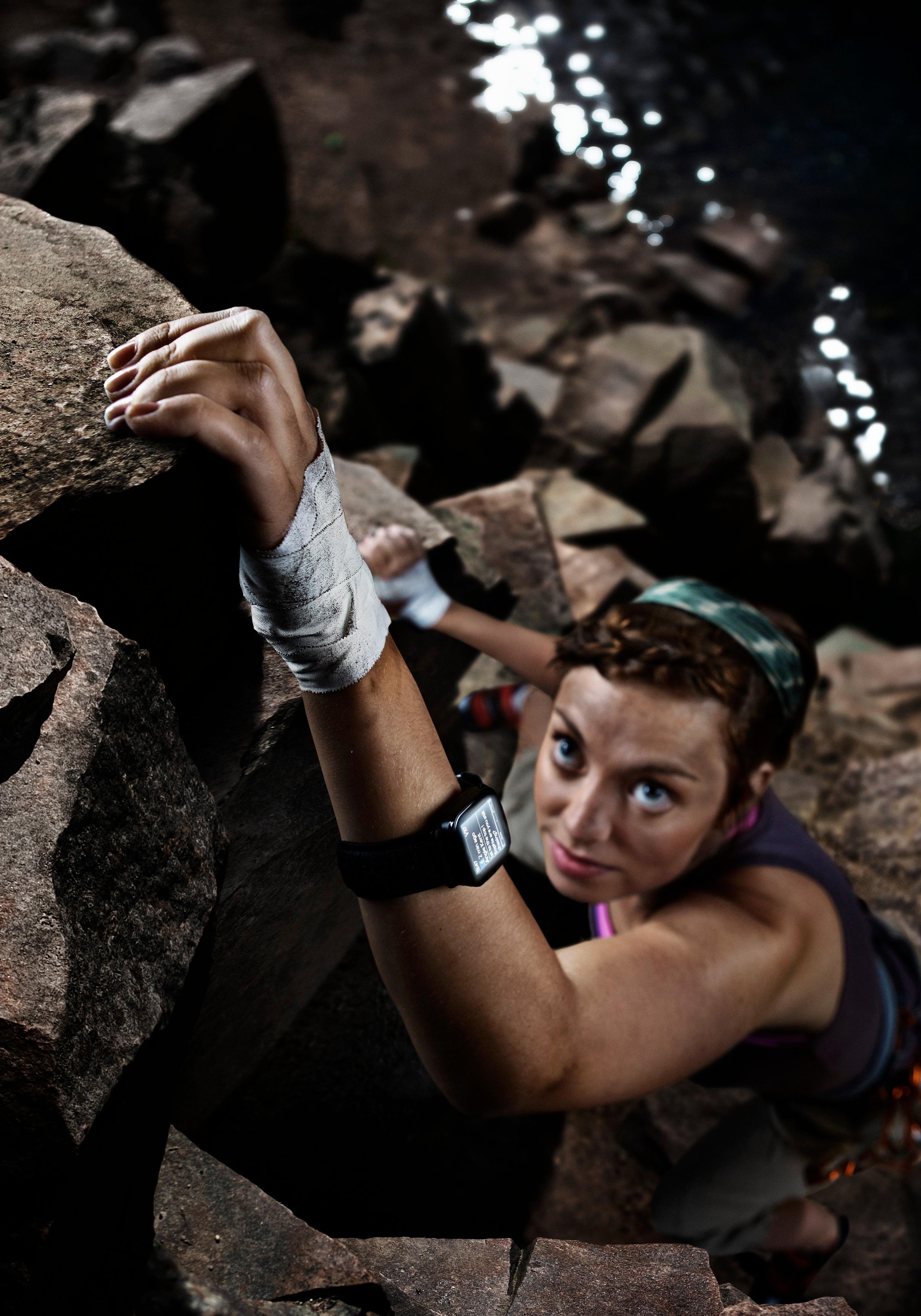 Du lurer nok ofte på hva det står i tekstmeldingene du mottar mens du klatrer i stupbratte fjell.