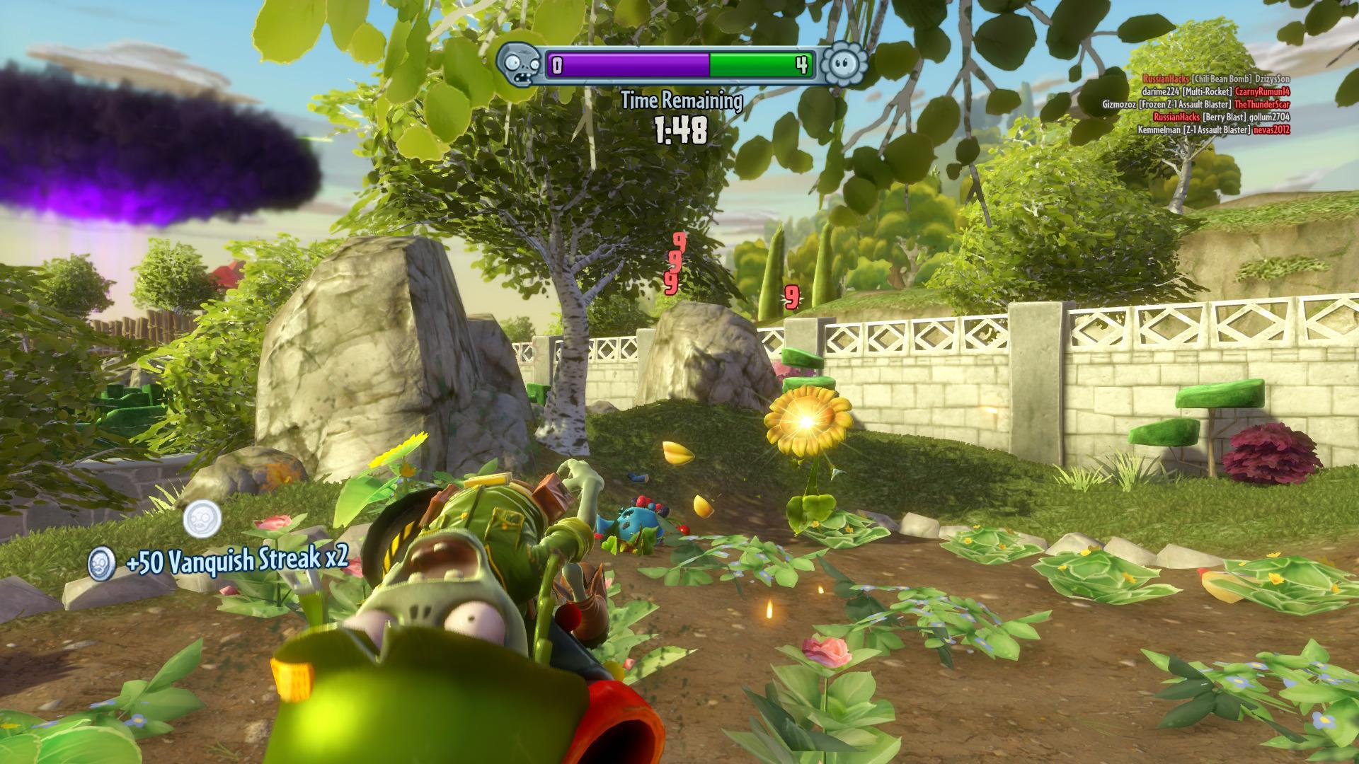 Plants vs Zombies er på den helt andre delen av skalaen, og byr mest på fantastisk morsomme situasjoner.
