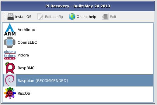 NOOBS lar deg velge hvilket operativsystem du vil installere.Foto: RaspberryPi.org