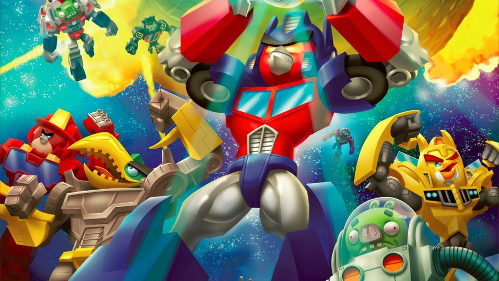 Angry Birds møter Transformers i neste spill