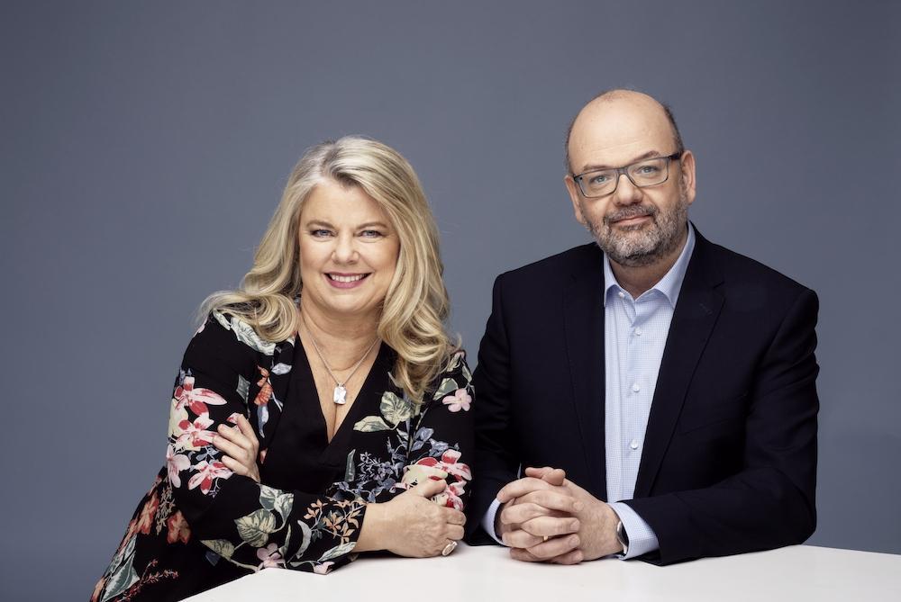 Carin Hjulström och Karsten Ahlbeck.