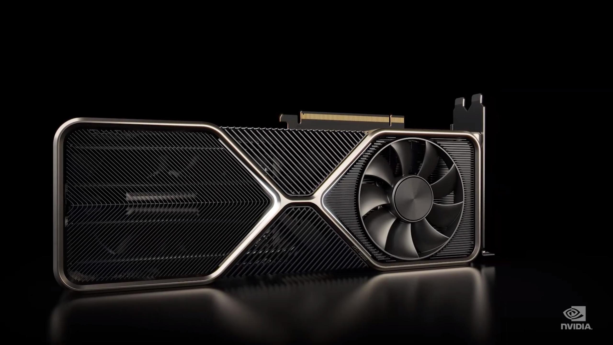 Nvidia RTX 3080 FE.