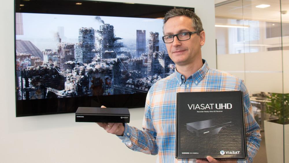 Viasat først ute med 4K på IPTV
