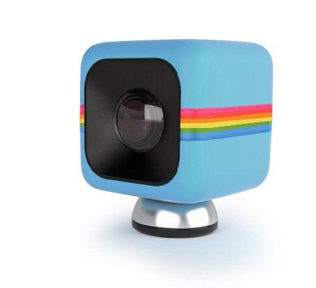 Polaroid Cube fåes også i mer fargesprakende utgaver.Foto: Polaroid