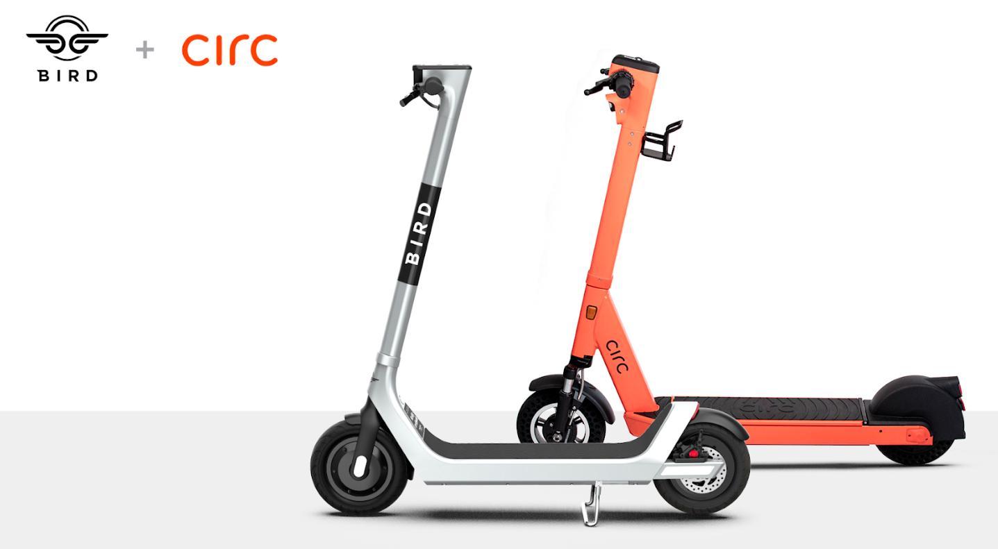 De oransje Circ-sparkesyklene kan bli erstattet av de mindre fargerike Bird-syklene i Oslo fremover. Bird kjøper nemlig Circ for en ukjent sum.