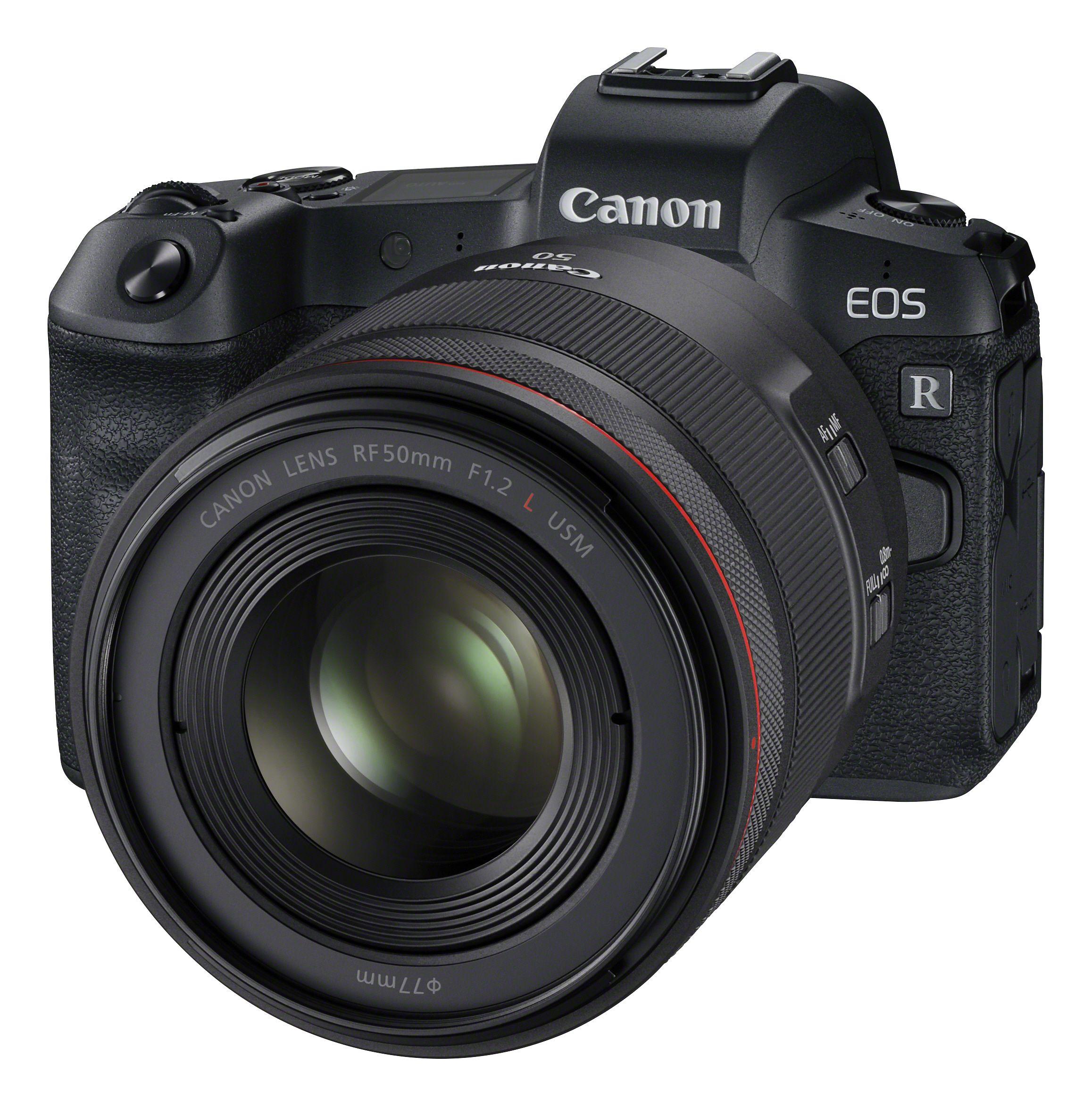 Canon EOS R med RF 50mm f/1.2 L USM.