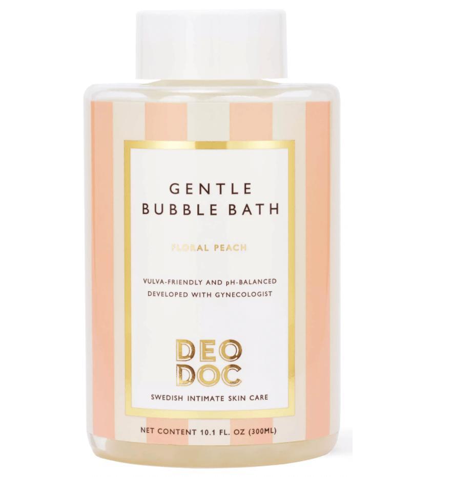 Ett avkopplande bad kan lindra mensvärk.