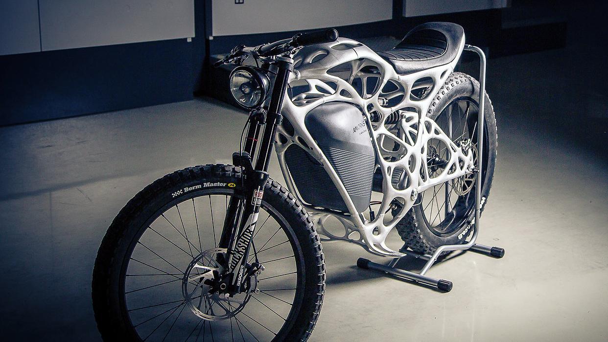 Dette er verdens første 3D-skrevne motorsykkel