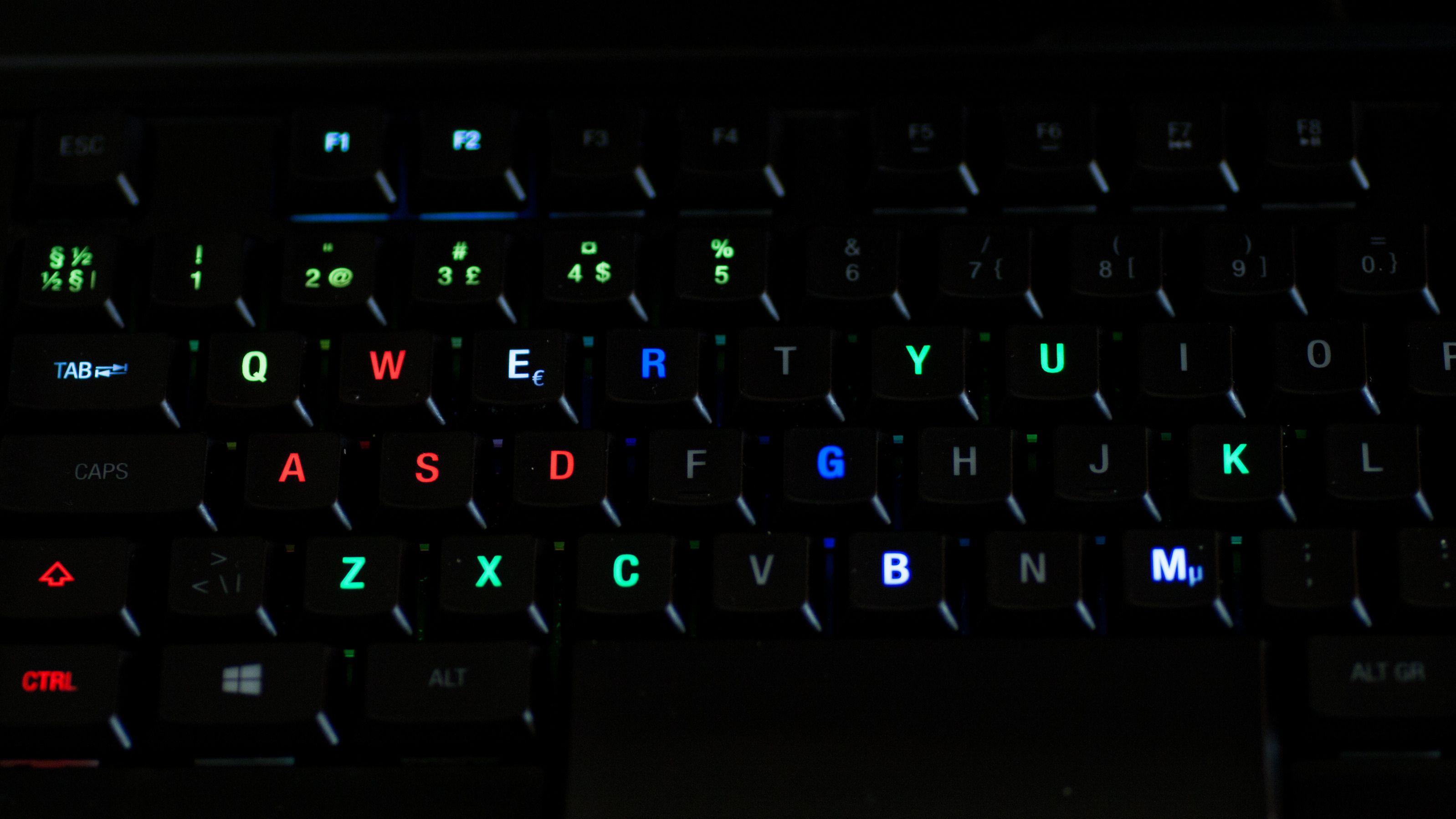 En av mange forhåndsprogrammerte fargetemaer. Foto: Anders Brattensborg Smedsrud, Tek.no
