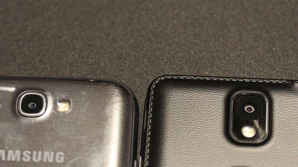 Gammel og ny Galaxy Note. Foto: Espen Irwing Swang, Amobil.no
