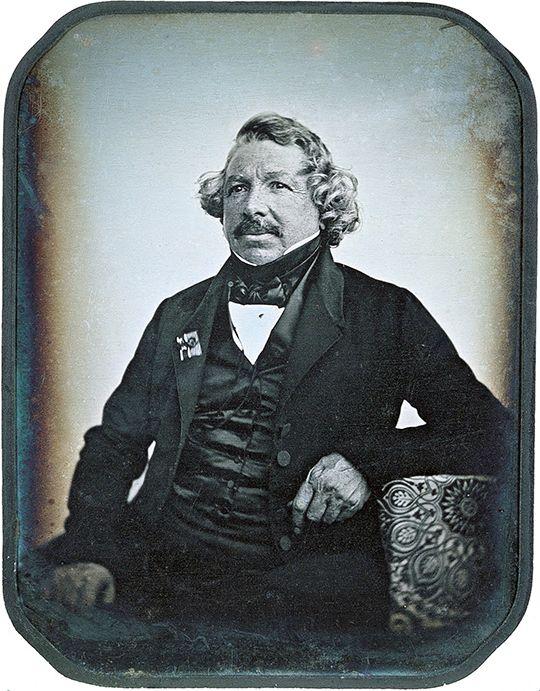 Daguerrotypi av Louis Daguerre, tatt i 1844.Foto: Jean-Baptiste Sabatier-Blot