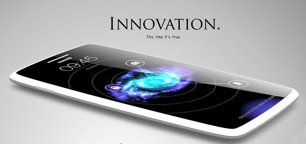 Konseptbilde som viser hvordan en Samsung Galaxy S5 kan se ut – fritt etter fantasien.