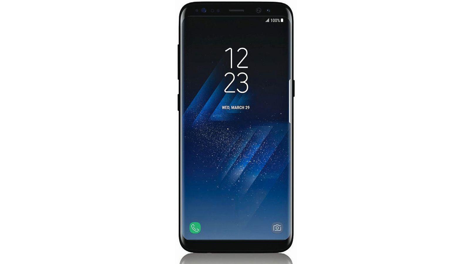 Dette skal være Samsung Galaxy S8
