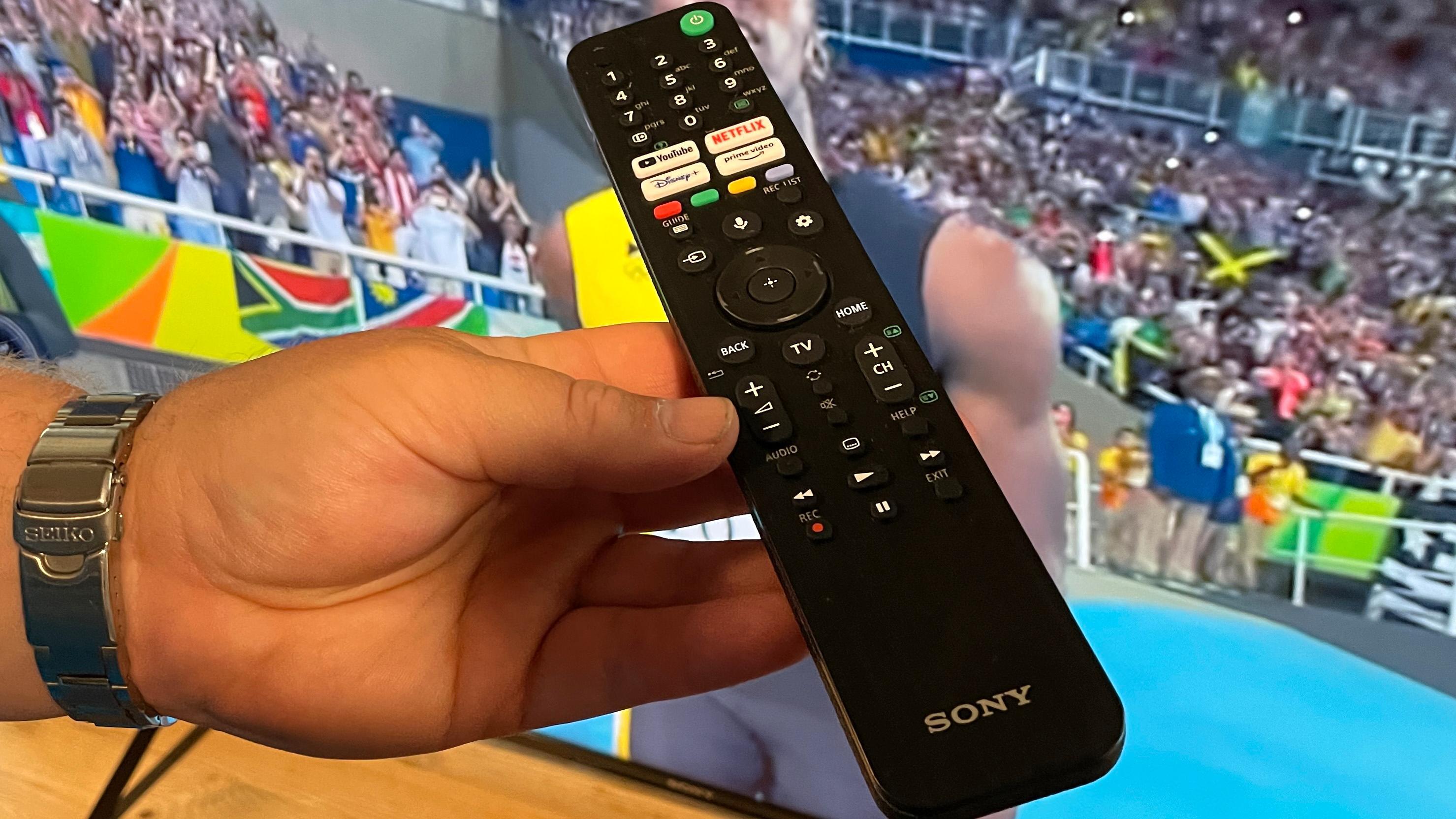 Sammen med Philips leverer Sony testens trausteste fjernkontroll.