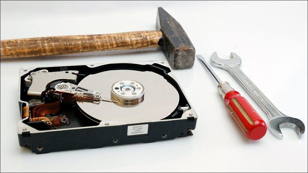 De viktigste diskverktøyene