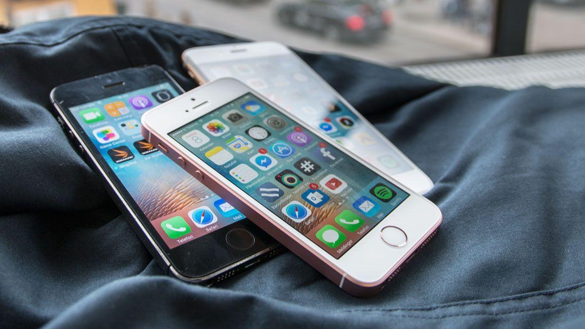 Den originale iPhone SE-modellen kom i 2016, og var designmessig en iPhone 5S med ny og sprek innmat. Det betød 4-tommers skjerm og kantete design. iPhone SE (2020) er ventet å få avrundet design på linje med iPhone 8.