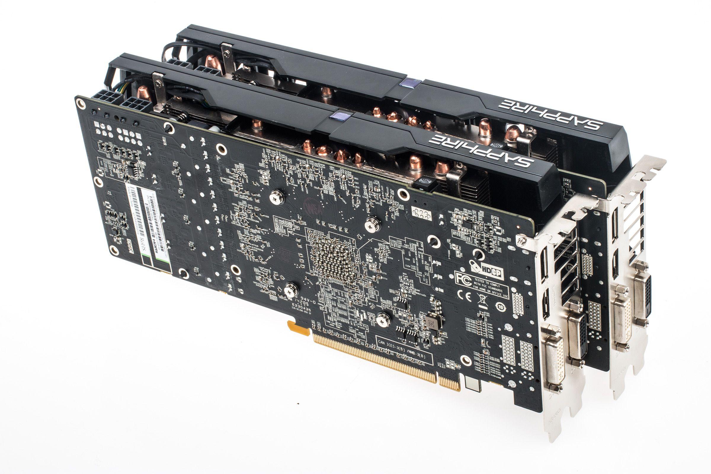 Med nyere AMD-kort slipper du å fikle med broer og tilkoblinger for å kjøre to eller flere samtidig.Foto: Varg Aamo, Tek.no