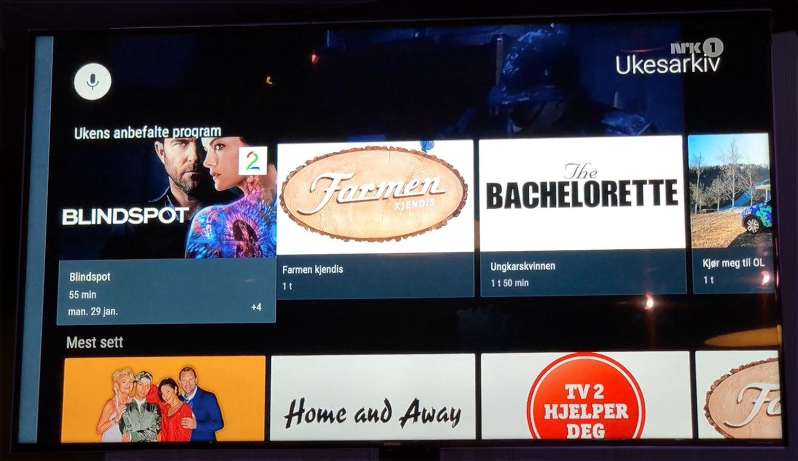 I Ukesarkivet kan du bla deg igjennom ting som har blitt sendt på lineær-TV den siste uken.