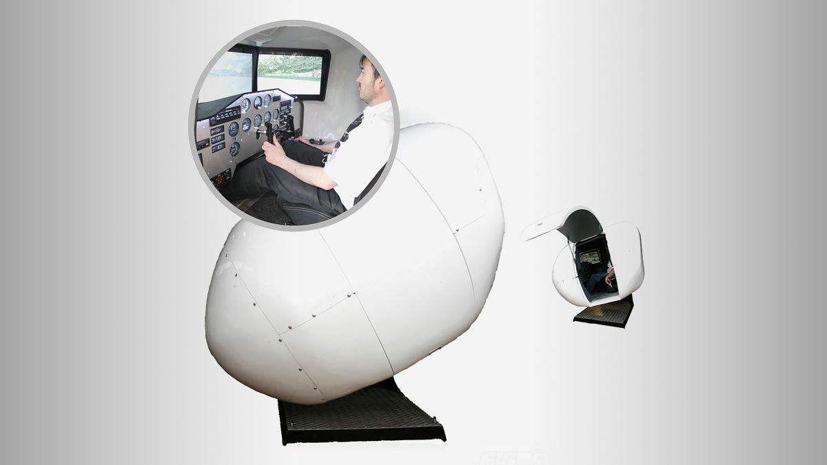 Nå kan du få en flysimulator i stua