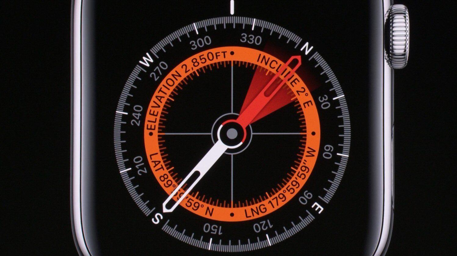 Apple Watch har fått kompass og en skjerm som aldri slukker