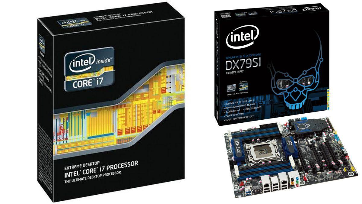 Intel DX79SI og Intel Core i7 3960X.Foto: Intel