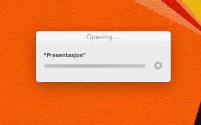 Det tar ofte ganske lang tid å få åpnet dokumenter man har jobbet med på iOS-enheter på en Mac.Foto: Finn Jarle Kvalheim, Tek.no