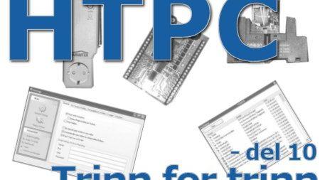 HTPC trinn for trinn - del 10