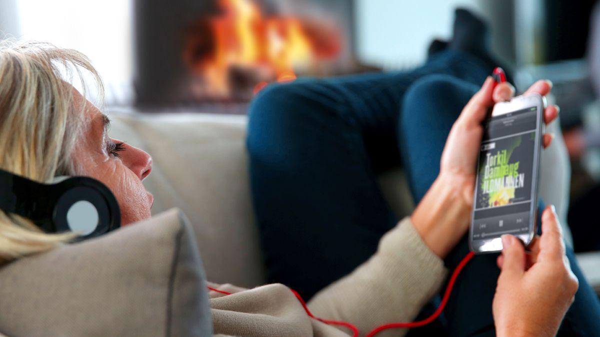 Lanserer «Spotify for lydbøker» snart