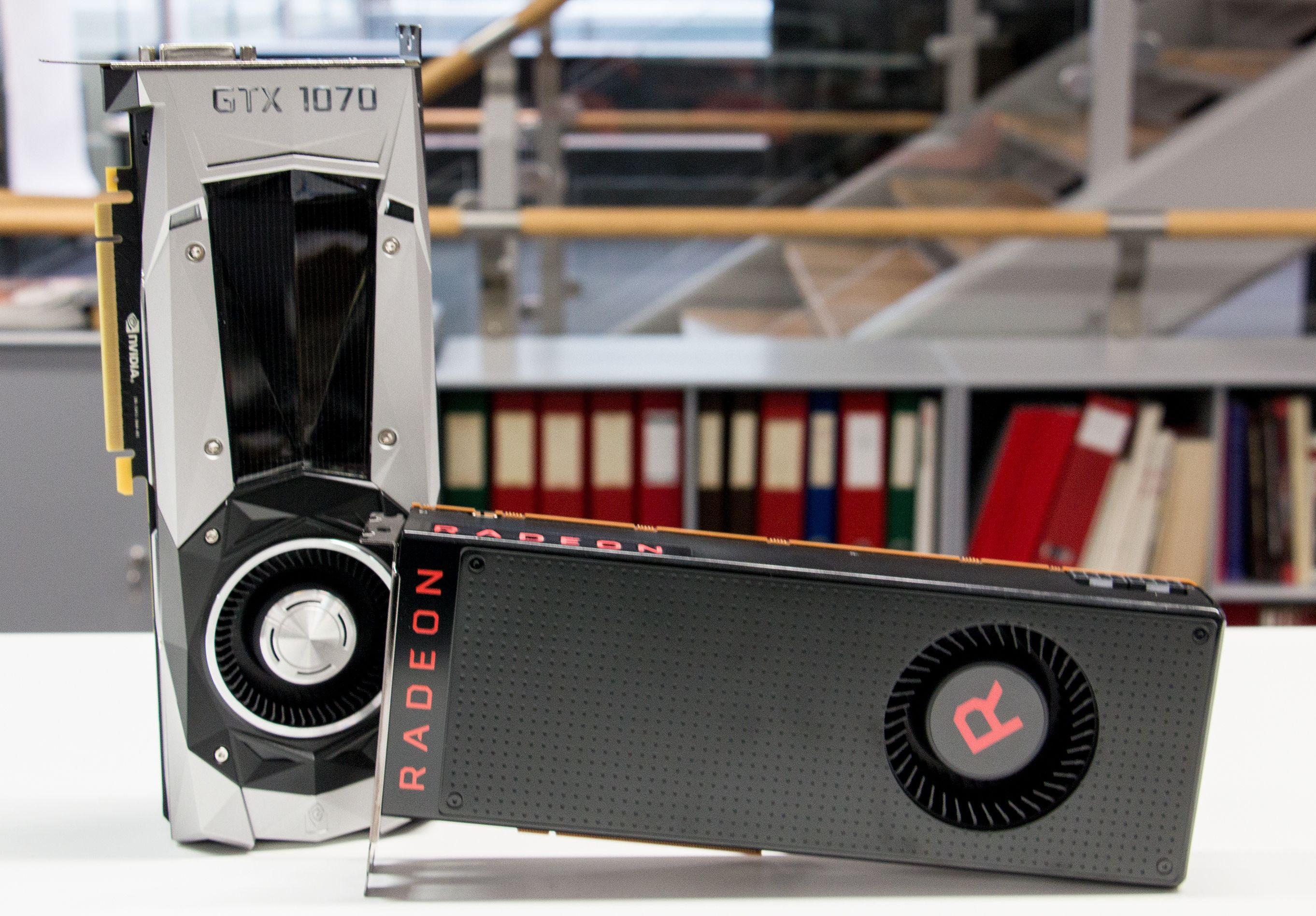 AMD RX Vega 56 konkurrerer mot Nvidias GTX 1070 i 4000-kronersklassen..