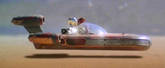 Svevesykkelen minner om denne farkosten fra Star Wars.Foto: Lucasfilm