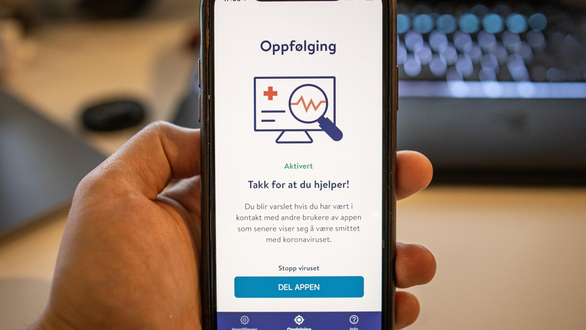 Rapport: Sikkerhet og personvern ikke godt nok ivaretatt i Smittestopp-appen