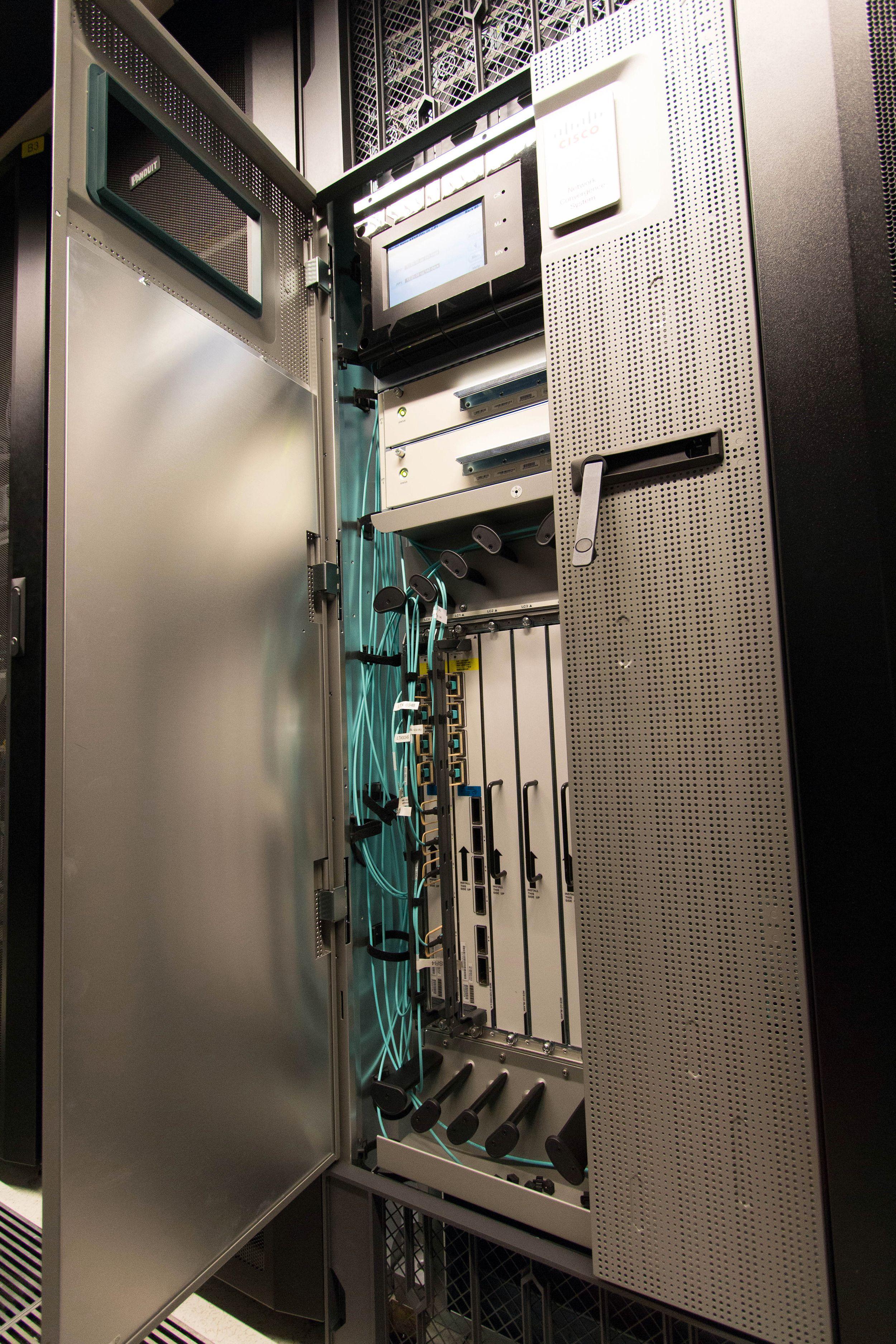 Cisco NCS 6000-ruteren. Foto: Vegar Jansen, Tek.no