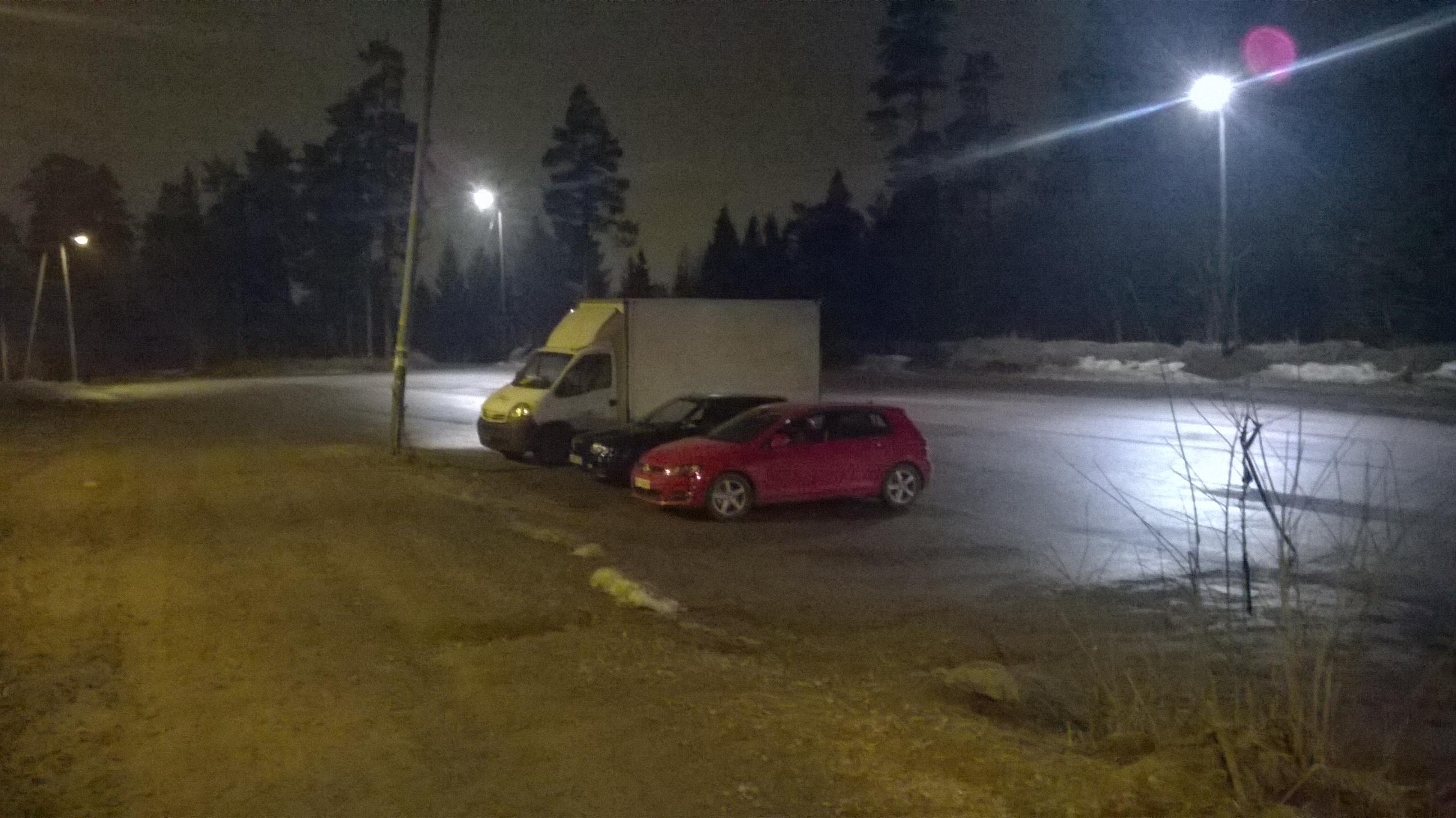 Testbilde natt (Nokia Camera)