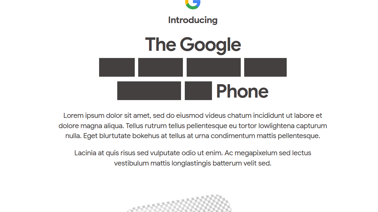 Google bekrefter billig-Pixel