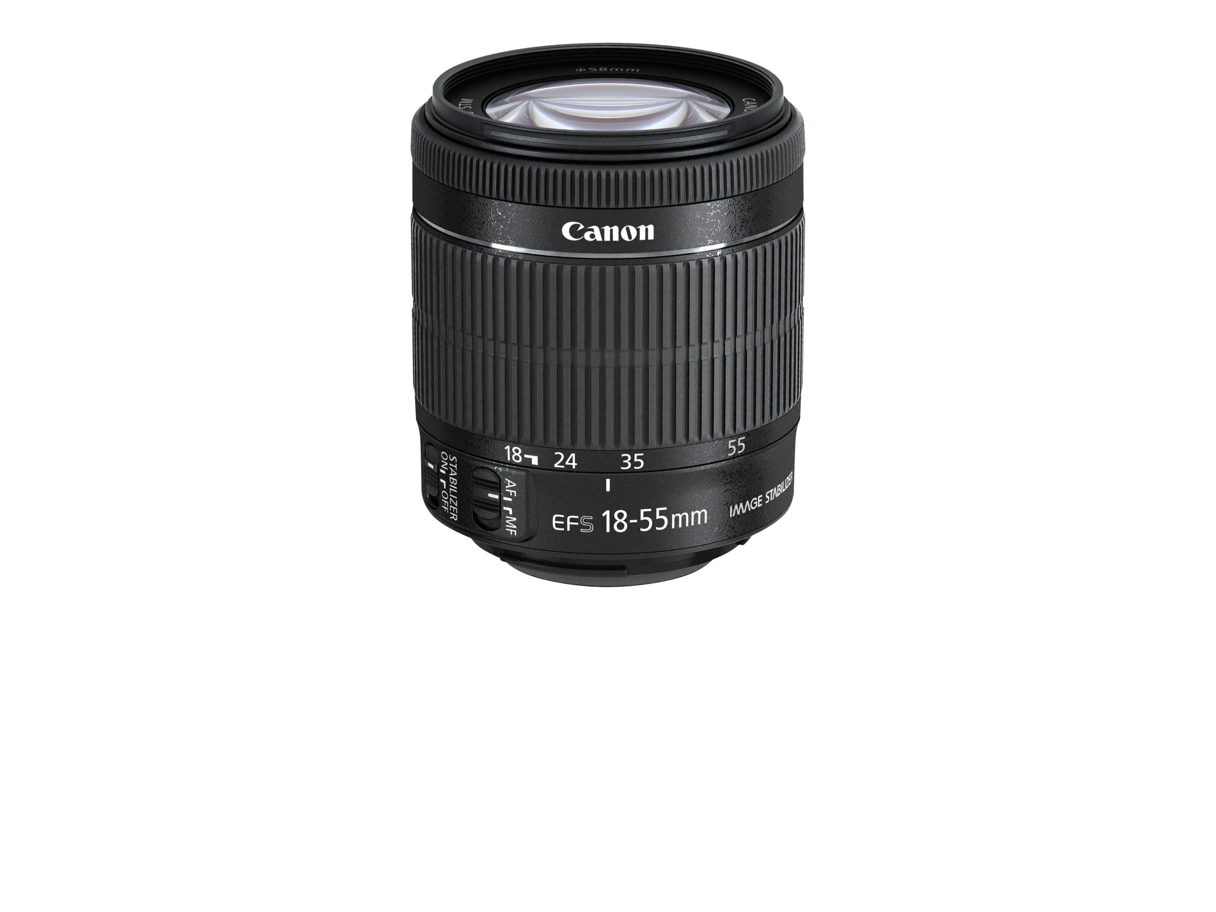 Canons nye kitobjektiv, EF-S 18-55 IS STM.Foto: Canon