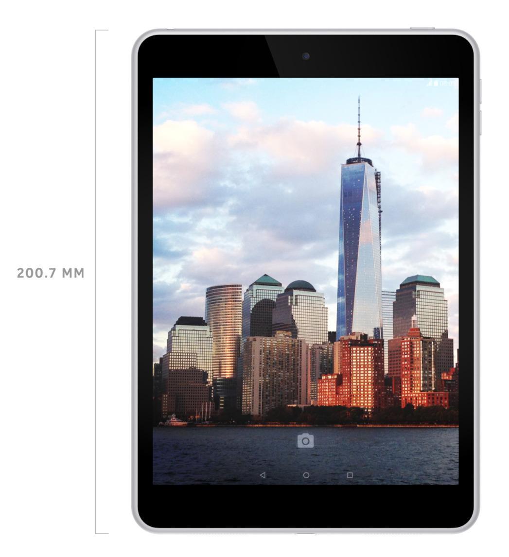 Nokia N1 kjører siste generasjon Atom-brikke fra Intel, og Googles Android 5.0.Foto: Nokia