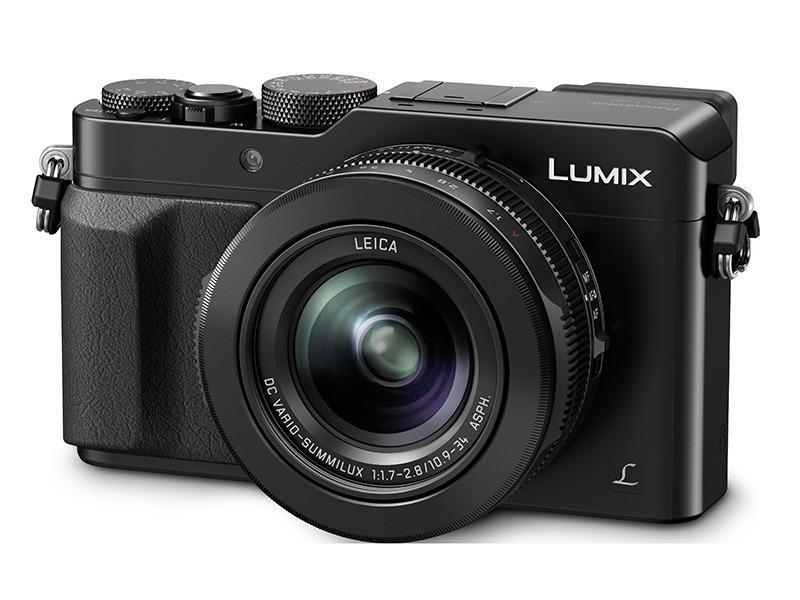 LX100 sett forfra. Foto: Panasonic