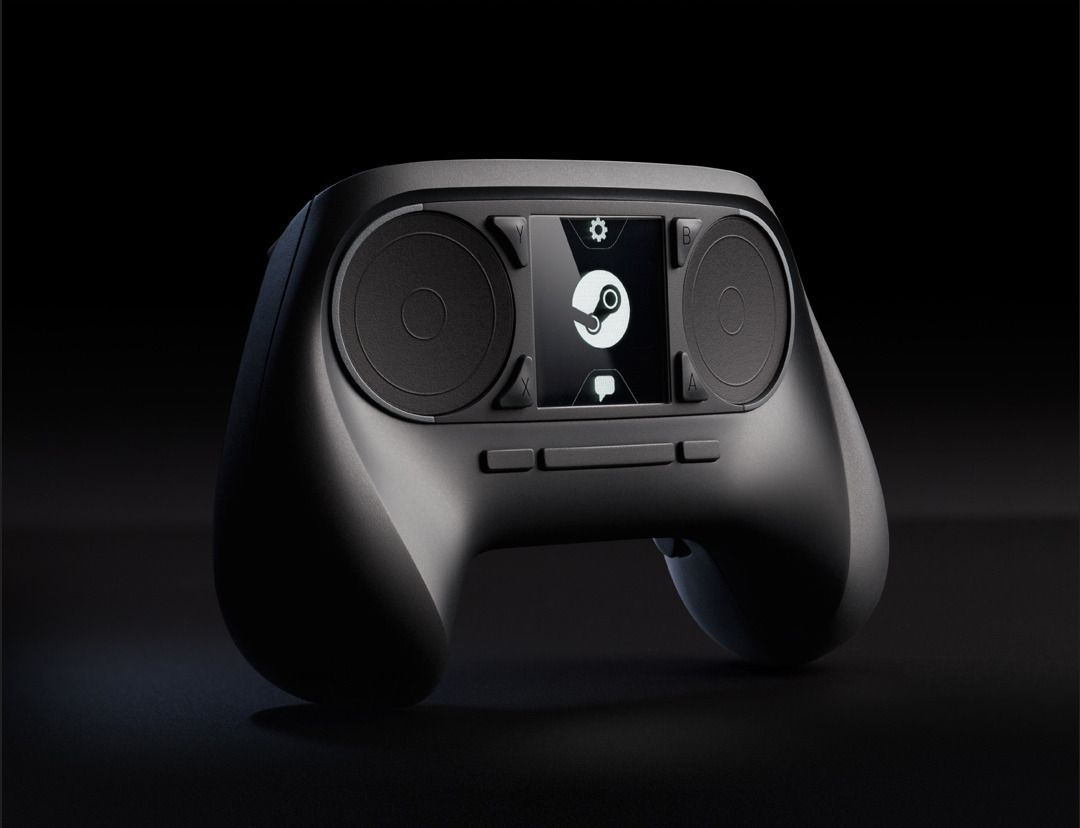 Valve har også laget en egen håndkontroll til Steam Machines. Foto: Valve