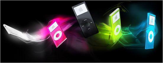 Apple lanserer nye iPod-spillere