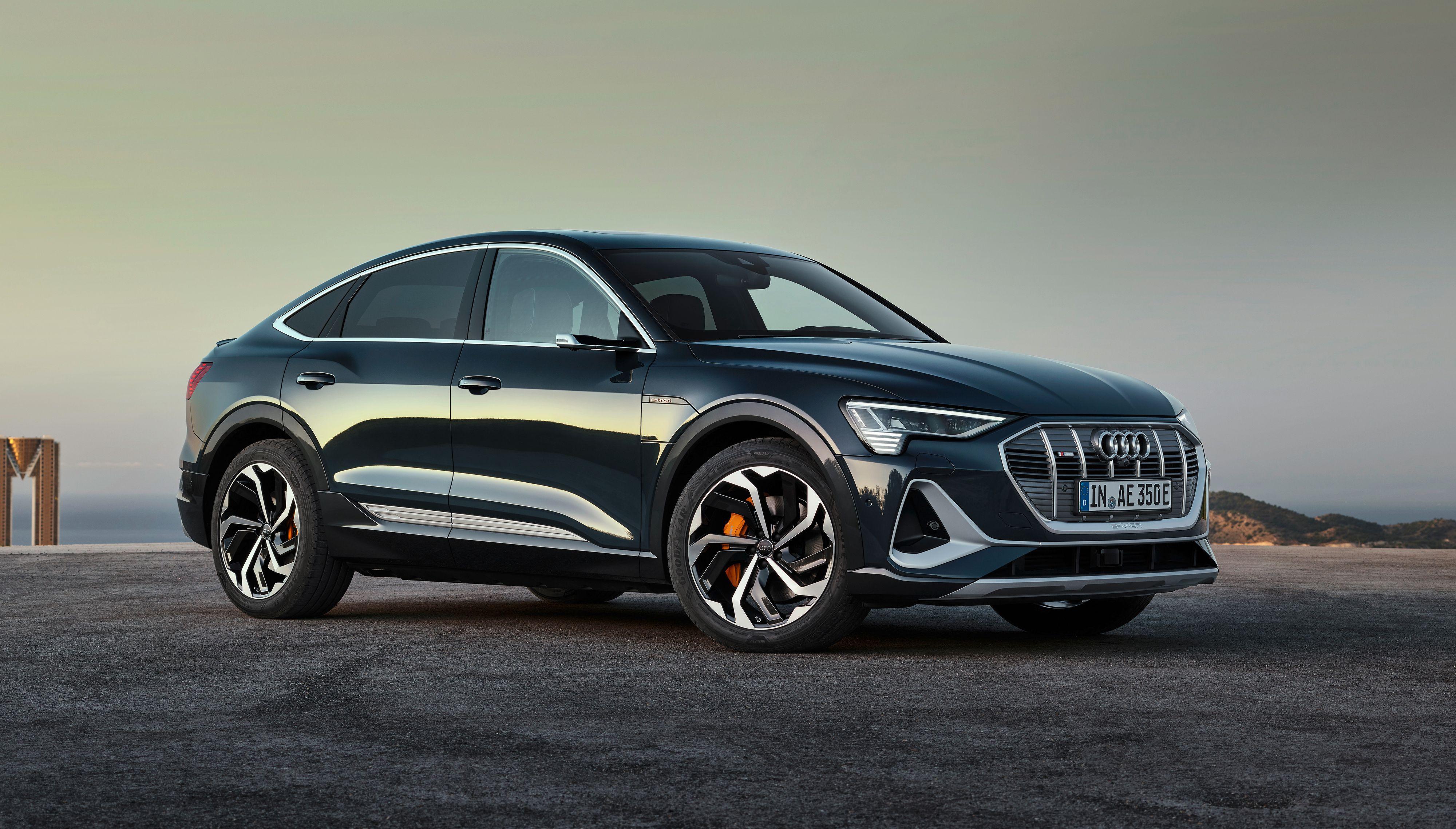 Sportback blir tilgjengelig både med 71 og 95 kWh batteri. Utnyttbar kapasitet er imidlertid noe mindre.